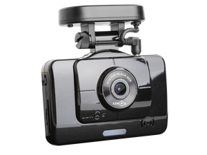 Lukas Q900 2-Channel 1080p Full HD Dash Camera, Built-in GPS I 24GB(16+8)