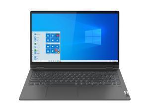 "Lenovo IdeaPad Flex 5 15ITL05 82HT0001US Intel Core i5 11th Gen 1135G7 (2.40 GHz) 12 GB Memory 512 GB PCIe SSD Intel Iris Xe Graphics 15.6"" Touchscreen 1920 x 1080 Convertible 2-in-1 Laptop Windows 10"
