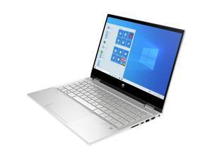 "HP Pavilion x360 14-dw1000 14-dw1010nr 14"" Touchscreen 2 in 1 Notebook - Full HD - 1920 x 1080 - Intel Core i5 (11th Gen) i5-1135G7 Quad-core (4 Core) - 12 GB RAM - 256 GB SSD - Natural Silver"