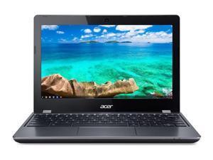 "Acer Chromebook 11 N7 C731 C731-C118 11.6"" Chromebook - 1366 x 768 - Celeron N3060 - 4GB RAM - 16GB Flash Memory Chrome OS - Gray"