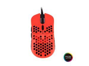 HK Gaming Mira M Ultra Lightweight Honeycomb Shell Wired Gaming Mouse - 6 Buttons - 2.1 oz (63 g)