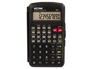 Victor Technologies 920 SCI Compact Calculator, Black