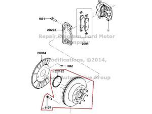 Ford bearings seals performance performance parts oem front wheel hub ford fandeluxe Choice Image