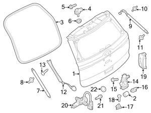 ford truck bed tailgate accessories newegg 2014 Lincoln Mark LT Truck ford oem liftgate bump