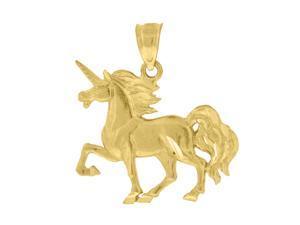 10kt Gold DC Unisex Birds Ht:22.5mm x W:18.4mm Animal Charm Pendant