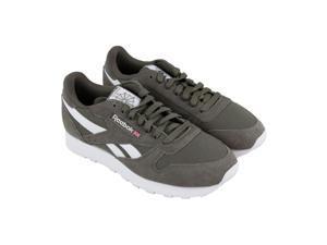 Reebok Classic Leather Mu Terrain Grey White Mens Athletic Training Shoes ea3086612