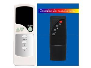 Replacement for Twin Star Duraflame Electric Fireplace Stove Heater Infrared Remote Control 9HM8000 9QI072ARA 10HM2274TCO 10HM9274 10QI081ARA 9HM8000-O142 9HM8000-C285