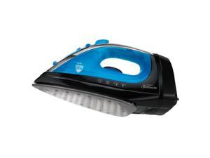 Sunbeam Steam Master® Iron with Retractable Cord, Black & Blue GCSBCL-202-000