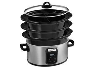 Crock-Pot Choose-A-Crock™ Programmable Slow Cooker SCCPVS642-S