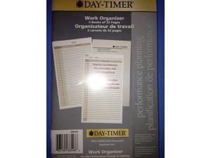 """Day-Timer Work Organizer 5"""" x 8 1/2"""" (127x216mm)"""
