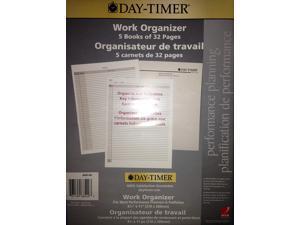 """Day-Timer Work Organizer 8 1/4"""" x 11"""" (210x280mm)"""