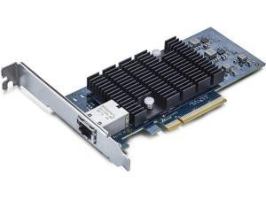 10Gb PCI-E NIC Network Card, Single Copper RJ45 Port, PCI Express Ethernet LAN Adapter Support Windows Server/Windows/Linux/ESX, Compare to Intel X540-T1