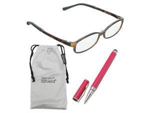 True Gear iShield Anti Reflective Reading Glasses - Fully flexable Frame (+2.50) - Demi