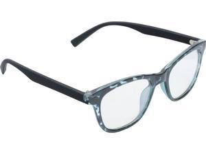 True Gear iShield Anti Reflective Computer Glasses Block Blue Light for Kids - Retro - Black/Green Demi with 2in1 Stylus