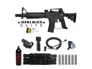 Tippmann US Army Alpha Black Elite Tactical Red Dot Paintball ... d4a7290ba13c