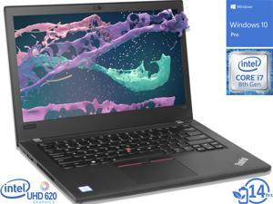 "Lenovo ThinkPad T480 Notebook, 14"" FHD Display, Intel Core i7-8650U Upto 4.2GHz, 32GB RAM, 1TB NVMe SSD, NVIDIA GeForce MX150, HDMI, Thunderbolt, Card Reader, Wi-Fi, Bluetooth, Windows 10 Pro"