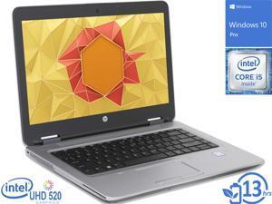"HP ProBook 640 G2 Notebook, 14"" FHD Display, Intel Core i5-6300U Upto 3.0GHz, 8GB RAM, 128GB NVMe SSD, DVDRW, DisplayPort, Thunderbolt, Wi-Fi, Bluetooth, Windows 10 Pro"