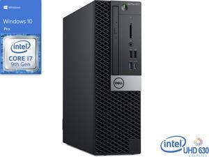 Dell OptiPlex 5070 Desktop, Intel Core i7-9700 Upto 4.7GHz, 16GB RAM, 512GB NVMe SSD, DVDRW, DisplayPort, Wi-Fi, Windows 10 Pro