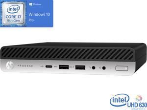 HP ProDesk 600 G5 Mini PC, Intel Core i7-9700T Upto 4.3GHz, 16GB RAM, 512GB NVMe SSD, HDMI, DisplayPort, Wi-Fi, Bluetooth, Windows 10 Pro
