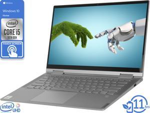 "Lenovo Yoga C740 2-in-1, 14"" IPS FHD Touch Display, Intel Core i5-10210U Upto 4.2GHz, 8GB RAM, 256GB NVMe SSD, DisplayPort via USB-C, Wi-Fi, Bluetooth, Windows 10 Home (81TC000JUS)"