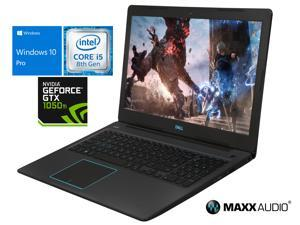 "Dell G3 Gaming Notebook, 15.6"" FHD Display, Intel Core i5-8300H Upto 4.0GHz, 8GB RAM, 128GB NVMe SSD, NVIDIA GeForce GTX 1050 Ti, HDMI, Wi-Fi, Bluetooth, Windows 10 Pro"