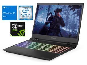 "GIGABYTE Aorus 5 Notebook, 15.6"" FHD Display, Intel Core i7-9750H Upto 4.5GHz, 8GB RAM, 256GB NVMe SSD + 1TB HDD, NVIDIA GeForce GTX 1650, HDMI, Card Reader, Wi-Fi, Bluetooth, Windows 10 Pro"