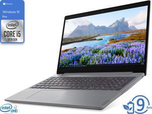 """Lenovo IdeaPad L3 Notebook, 15.6"""" HD Display, Intel Core i5-10210U Upto 4.2GHz, 12GB RAM, 256GB SSD, DVDRW, HDMI, UK keyboard, Wi-Fi, Bluetooth, Windows 10 Pro"""