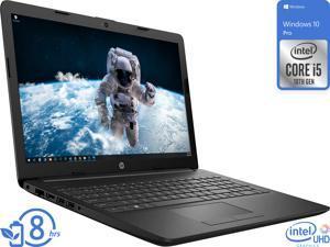"""HP 15 Notebook, 15.6"""" HD Display, Intel Core i5-10210U Upto 4.2GHz, 16GB RAM, 512GB SSD, HDMI, Wi-Fi, Bluetooth, Windows 10 Pro"""