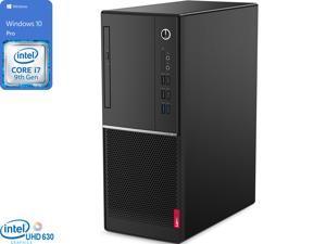 Lenovo V530 Desktop, Intel Core i7-9700 Upto 4.7GHz, 16GB RAM, 512GB SSD, DVDRW, HDMI, DisplayPort, VGA, UK Keyboard, Wi-Fi, Windows 10 Pro