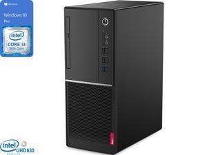 Lenovo V530 Desktop, Intel Core i3-9100 Upto 4.2GHz, 8GB RAM, 256GB SSD, DVDRW, HDMI, DisplayPort, VGA, UK Keyboard, Wi-Fi, Windows 10 Pro