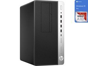 HP EliteDesk 705 G4 Desktop, AMD A10-9700 Upto 3.8GHz, 32GB RAM, 256GB NVMe SSD + 500GB HDD, DVDRW, DisplayPort, Wi-Fi, Bluetooth, Windows 10 Pro