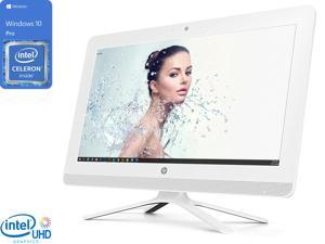 "HP All-in-One, 19.5"" FHD Display, Intel Celeron J4005 Upto 2.7GHz, 8GB RAM, 512GB SSD, DVDRW, HDMI, Card Reader, Wi-Fi, Bluetooth, Windows 10 Pro"