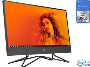 "HP 200 G4 All-in-One, 21.5"" FHD Display, Intel Core i5-10210U Upto 4.2GHz, 8GB RAM, 256GB SSD, DVDRW, HDMI, Card Reader, Wi-Fi, Bluetooth, Windows 10 Pro"