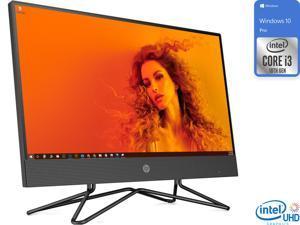 "HP 200 G4 All-in-One, 21.5"" FHD Display, Intel Core i3-10110U Upto 4.1GHz, 16GB RAM, 256GB SSD, DVDRW, HDMI, Card Reader, Wi-Fi, Bluetooth, Windows 10 Pro"