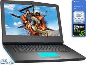 "Dell Alienware 15R4 Gaming Notebook, 15.6"" 4K UHD Display, Intel Core i9-8950HK Upto 4.8GHz, 8GB RAM, 512GB NVMe SSD, GeForce GTX 1080, HDMI, Mini DisplayPort, Thunderbolt, Windows 10 Pro"