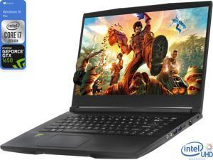 "MSI GF63 Gaming Notebook, 15.6"" IPS FHD Display, Intel Core i7-10750H Upto 5.0GHz, 32GB RAM, 512GB NVMe SSD, NVIDIA GeForce GTX 1650, HDMI, Wi-Fi, Bluetooth, Windows 10 Pro"