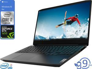 "Lenovo IdeaPad 3 Gaming Notebook, 15.6"" FHD Display, Intel Core i7-10750H Upto 5.0GHz, 8GB RAM, 512GB NVMe SSD, NVIDIA GeForce GTX 1650, HDMI, Wi-Fi, Bluetooth, Windows 10 Pro"
