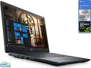 "Dell G3 Gaming Notebook, 15.6"" 144Hz FHD Display, Intel Core i7-10750H Upto 5.0GHz, 32GB RAM, 1TB NVMe SSD, NVIDIA GeForce RTX 2060, HDMI, DisplayPort via USB-C, Wi-Fi, Bluetooth, Windows 10 Pro"