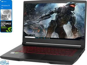 "MSI GF65 THIN Gaming Notebook, 15.6"" 120Hz FHD Display, Intel Core i7-10750H Upto 5.0GHz, 32GB RAM, 512GB NVMe SSD, NVIDIA GeForce GTX 1660 Ti, HDMI, Wi-Fi, Bluetooth, Windows 10 Pro"