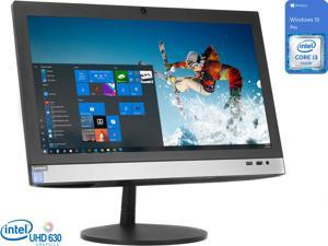 "Lenovo V330 All-in-One, 19.5"" HD+ Display, Intel Core i3-9100 Upto 4.2GHz, 8GB RAM, 256GB NVMe SSD + 500GB HDD, DVDRW, HDMI, Card Reader, Wi-Fi, Bluetooth, Windows 10 Pro"