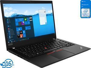 """Lenovo ThinkPad T490 Notebook, 14"""" IPS QHD Display, Intel Core i7-8665U Upto 4.8GHz, 48GB RAM, 1TB NVMe SSD, HDMI, DisplayPort via USB-C, Wi-Fi, Bluetooth, Windows 10 Pro (20N2S3H300)"""