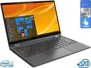 "Lenovo Yoga C640 2-in-1, 13.3"" IPS FHD Touch Display, Intel Core i7-10510U Upto 4.9GHz, 8GB RAM, 512GB NVMe SSD, DisplayPort via USB-C, Wi-Fi, Bluetooth, Windows 10 Home (81UE001GUS)"