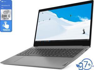 "Lenovo IdeaPad 3 Notebook, 15.6"" HD Touch Display, Intel Core i5-1035G1 Upto 3.6GHz, 20GB RAM, 256GB NVMe SSD, HDMI, Wi-Fi, Bluetooth, Windows 10 Pro S"