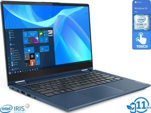 "Lenovo ThinkBook 14s Yoga 2-in-1, 14"" IPS FHD Touch Display, Intel Core i7-1165G7 Upto 4.7GHz, 16GB RAM, 512GB NVMe SSD, HDMI, Thunderbolt, Wi-Fi, Bluetooth, Windows 10 Pro (20WE001DUS)"