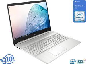 "HP 15 Notebook, 15.6"" HD Display, Intel Core i5-1135G7 Upto 4.2GHz, 16GB RAM, 512GB NVMe SSD, HDMI, Card Reader, Wi-Fi, Bluetooth, Windows 10 Pro"