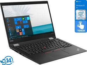 "Lenovo ThinkPad X390 Yoga 2-in-1, 13.3"" IPS FHD Touch Display, Intel Core i5-8365U Upto 4.1GHz, 8GB RAM, 256GB NVMe SSD, HDMI, DisplayPort via USB-C, Wi-Fi, Bluetooth, Windows 10 Pro (20NNS0TE00)"
