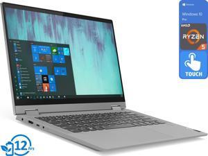 """Lenovo Flex 5 2-in-1, 14"""" IPS FHD Touch Display, AMD Ryzen 5 4500U Upto 4.0GHz, 8GB RAM, 256GB NVMe SSD, Vega 6, HDMI, Card Reader, Wi-Fi, Bluetooth, Windows 10 Pro"""