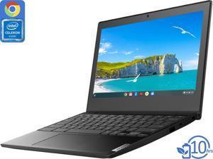 """Lenovo IdeaPad 3 Chromebook, 11.6"""" HD Display, Intel Celeron N4020 Upto 2.8GHz, 4GB RAM, 32GB eMMC, DisplayPort via USB-C, Card Reader, Wi-Fi, Bluetooth, Chrome OS"""