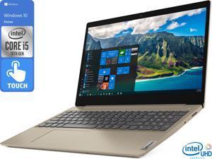 "Lenovo IdeaPad 3 Notebook, 15.6"" HD Touch Display, Intel Core i5-1035G1 Upto 3.6GHz, 12GB RAM, 1TB HDD, HDMI, Card Reader, Wi-Fi, Bluetooth, Windows 10 Home (81WE00LDUS)"