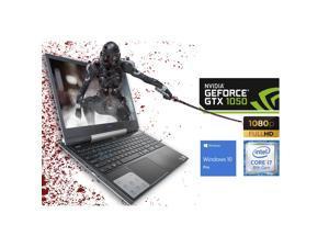 "Dell G5 Gaming Notebook, 15.6"" FHD Display, Intel Core i7-8750H Upto 4.1GHz, 8GB RAM, 512GB NVMe SSD, NVIDIA GeForce GTX 1050 Ti, HDMI, DisplayPort via USB-C, Wi-Fi, BT, Windows 10 Pro"